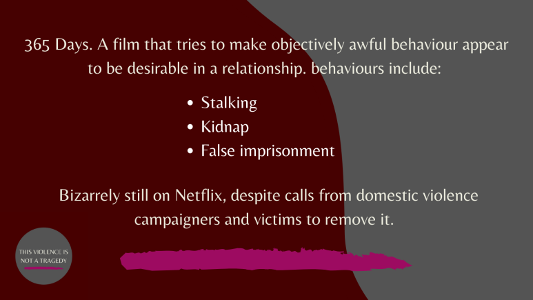 365 days stalking, kidnap and false imprisonment