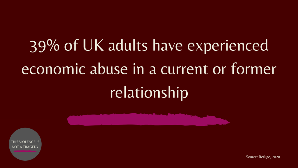 39% UK adults economic abuse
