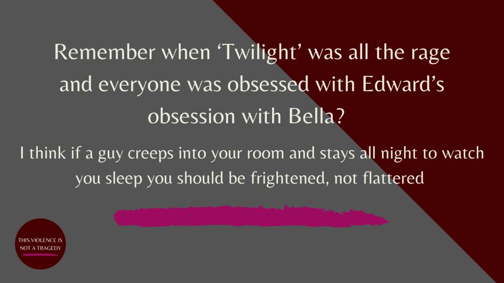 Twilight Edward creeping into Bella's room