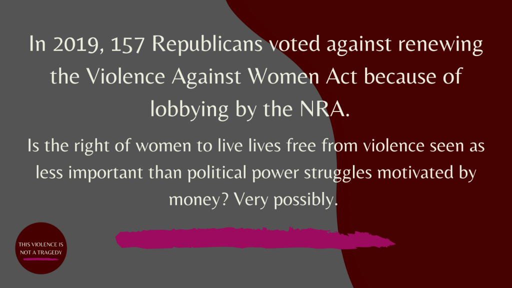Violence against women act NRA