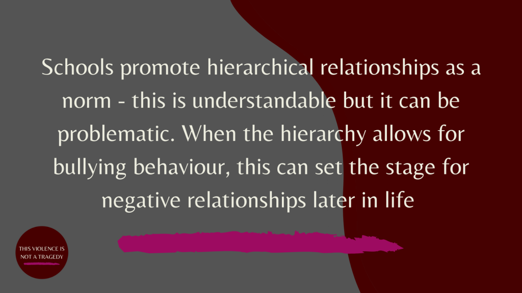 schools hierarchical relationships