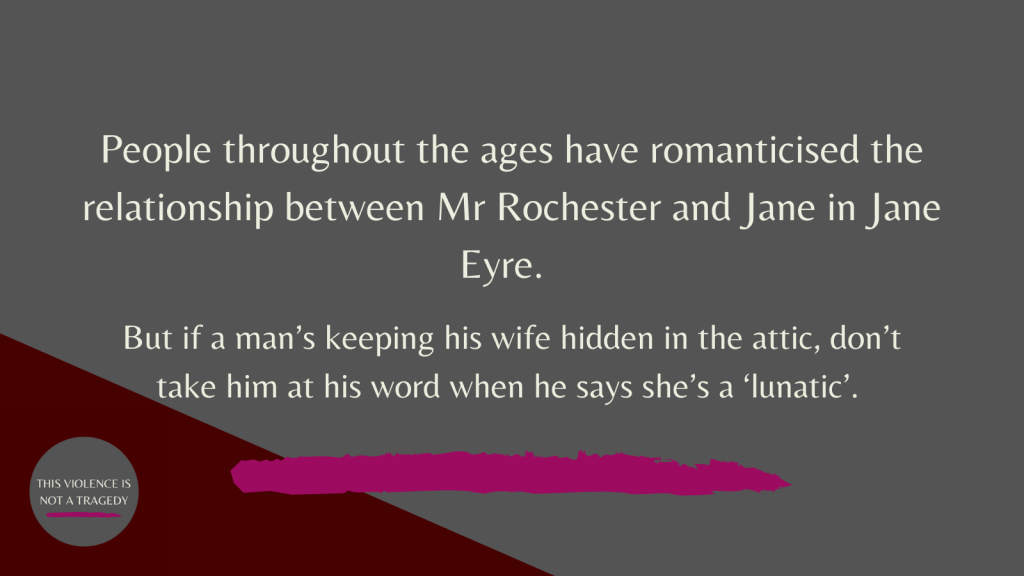 Jane Eyre mad wife in attic